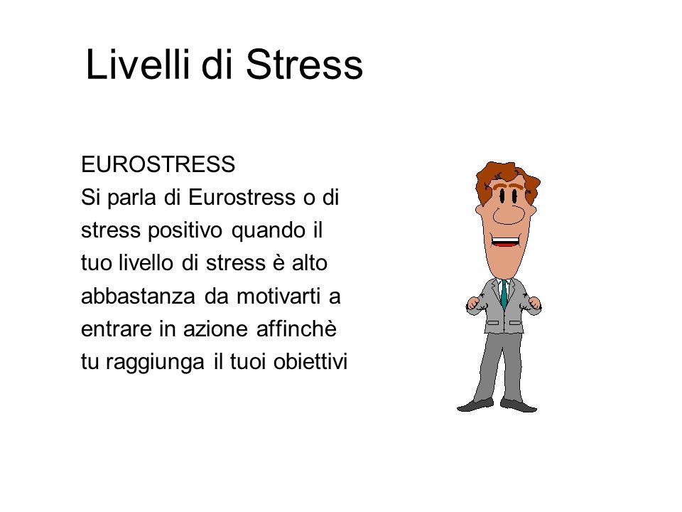 Livelli di Stress EUROSTRESS Si parla di Eurostress o di