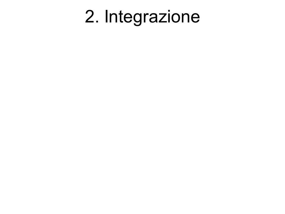2. Integrazione