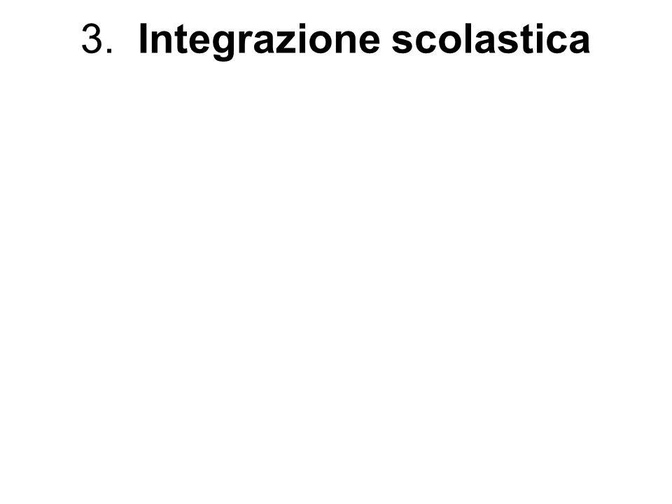 3. Integrazione scolastica