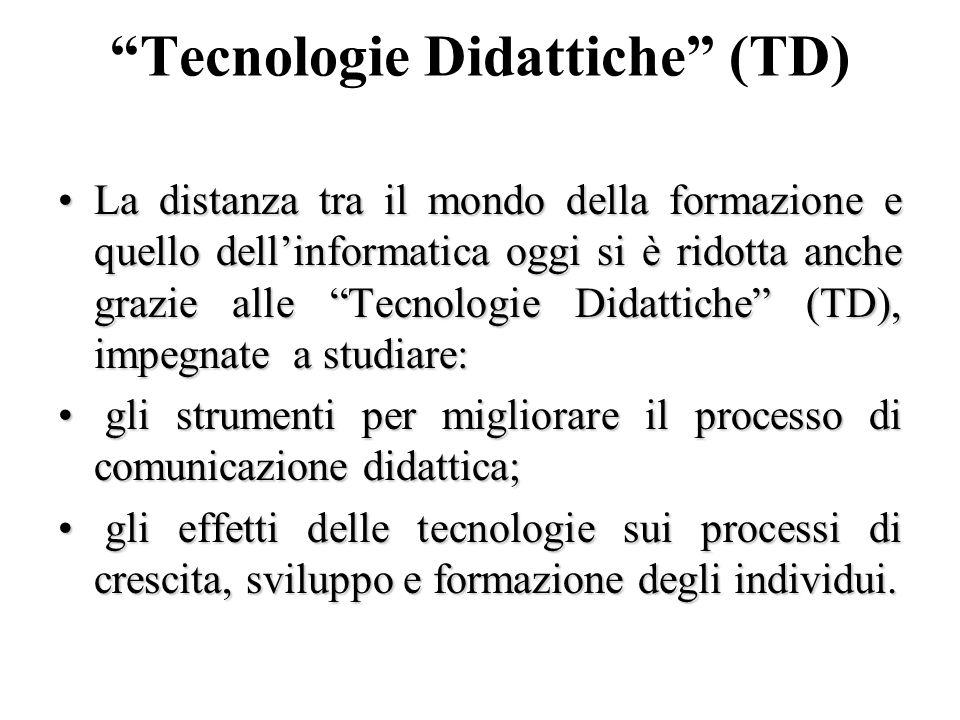 Tecnologie Didattiche (TD)