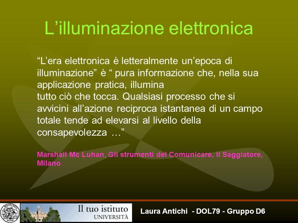 L'illuminazione elettronica