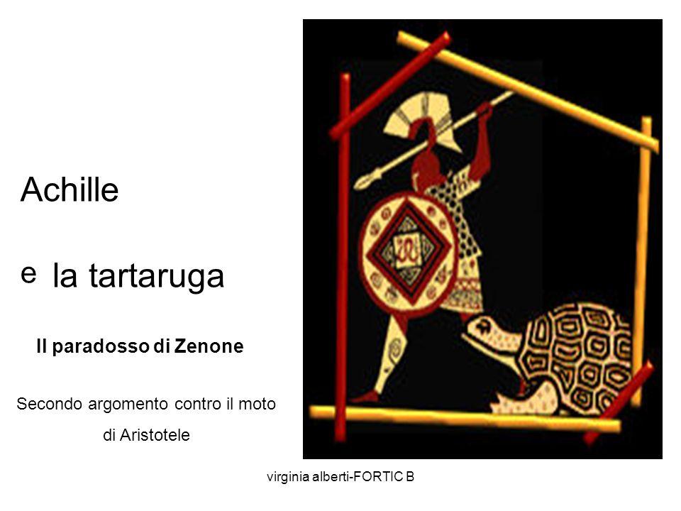 Achille la tartaruga e Il paradosso di Zenone