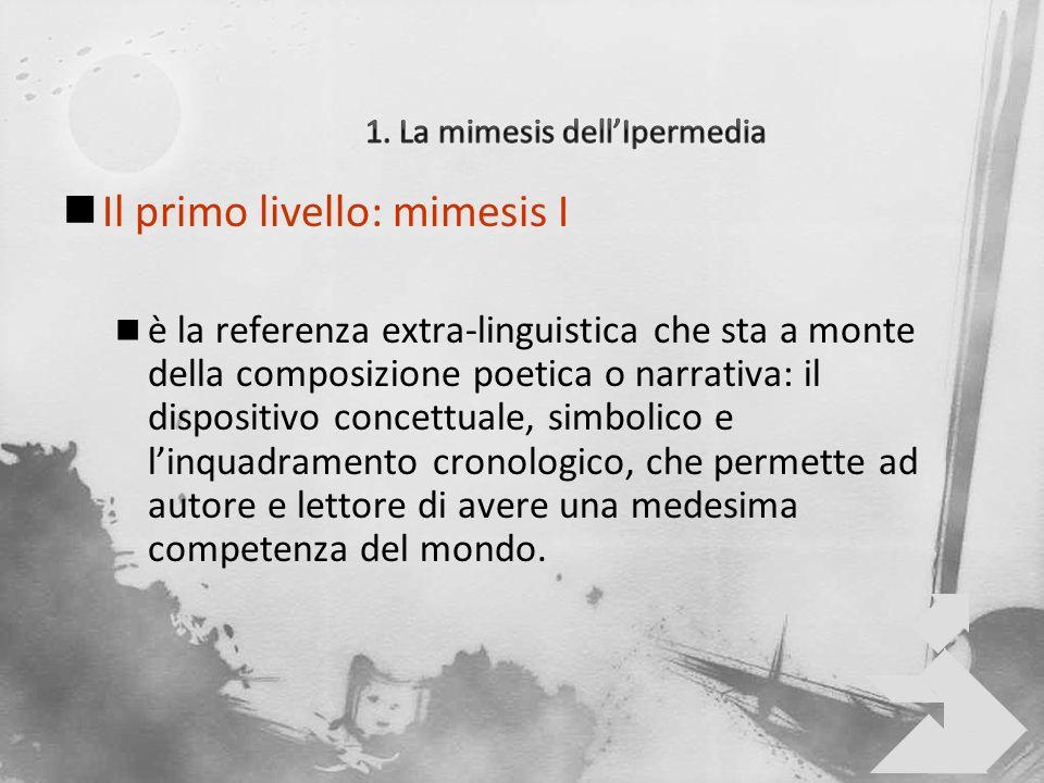 1. La mimesis dell'Ipermedia