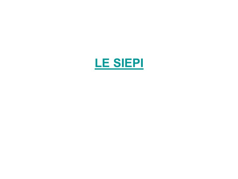 LE SIEPI