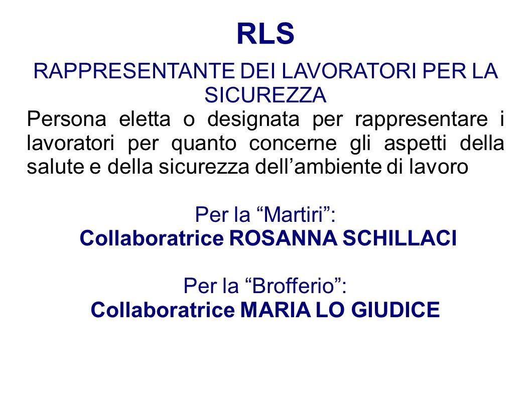 Collaboratrice MARIA LO GIUDICE