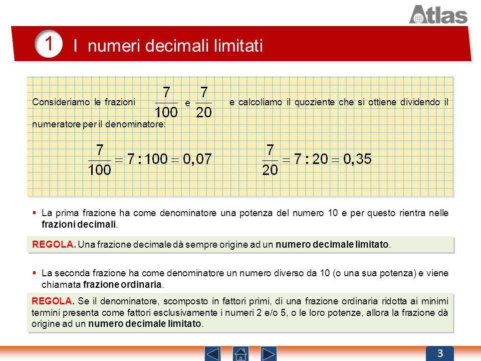 1 I numeri decimali limitati