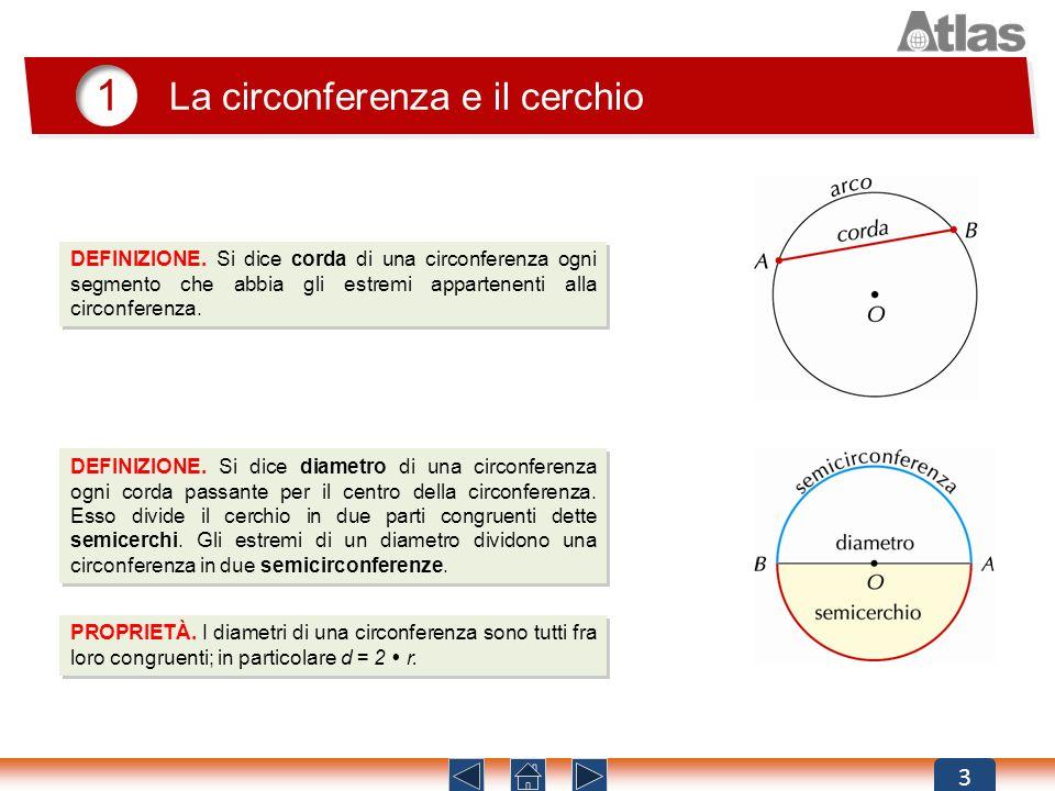 1 La circonferenza e il cerchio 3