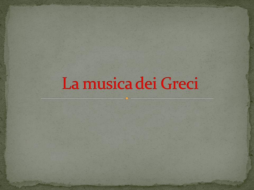 La musica dei Greci