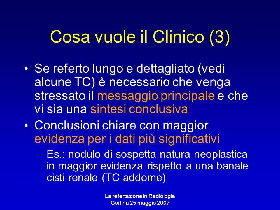 Cosa vuole il Clinico (3)