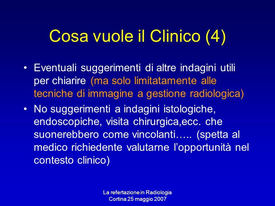 Cosa vuole il Clinico (4)