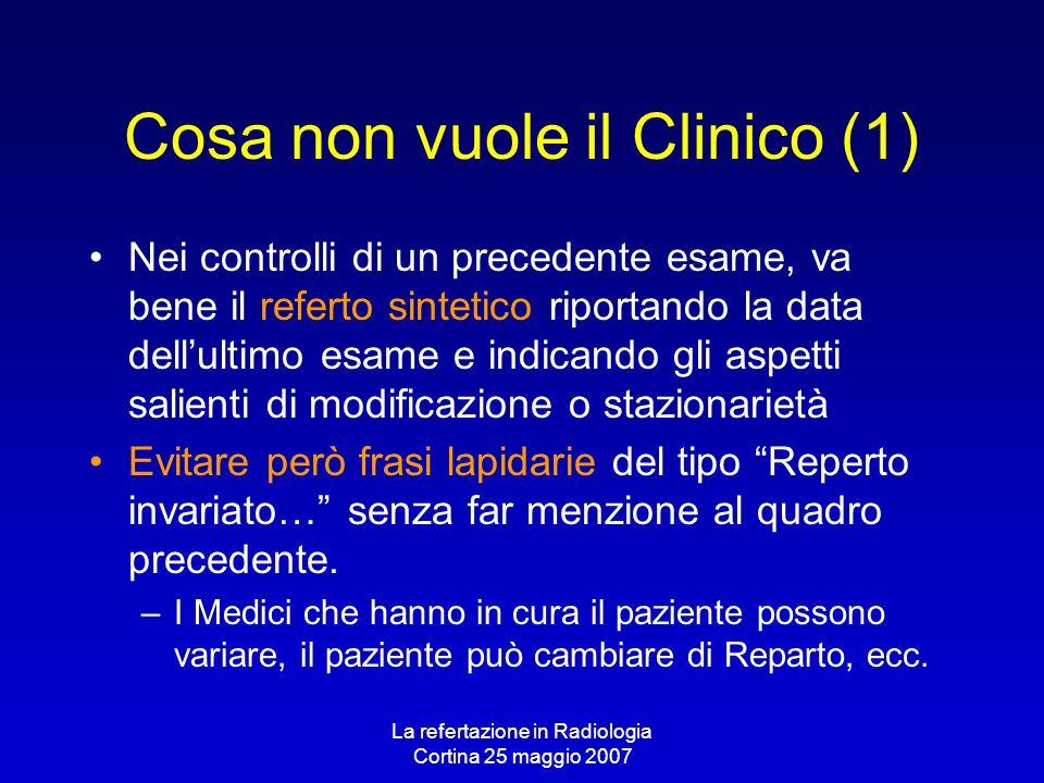 Cosa non vuole il Clinico (1)