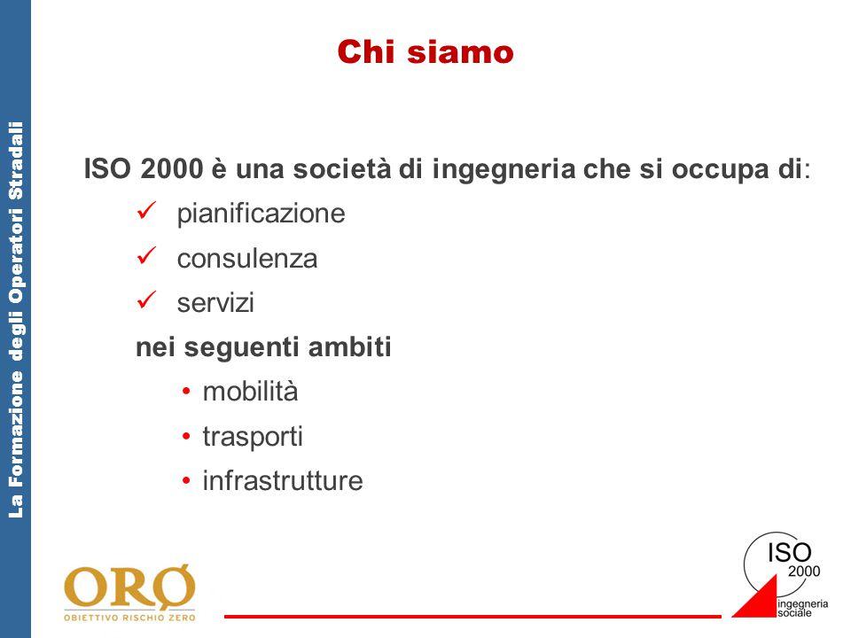 Chi siamo ISO 2000 è una società di ingegneria che si occupa di: