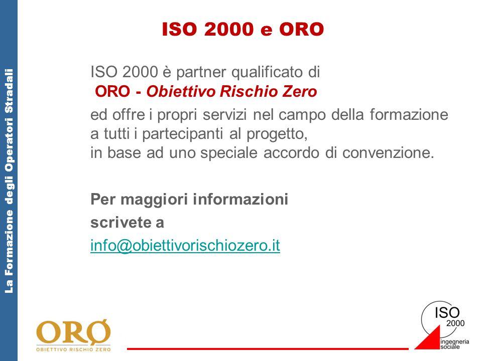 ISO 2000 e ORO