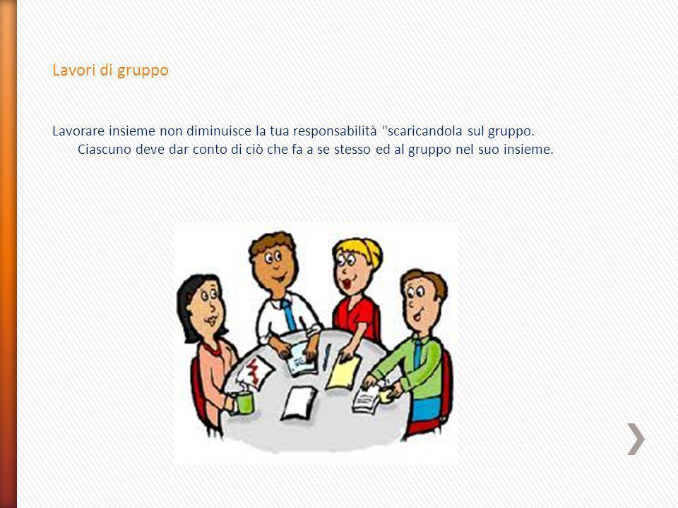 Lavori di gruppo