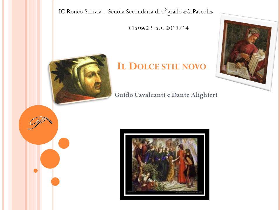 Guido Cavalcanti e Dante Alighieri