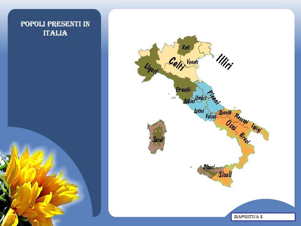 Popoli presenti in Italia