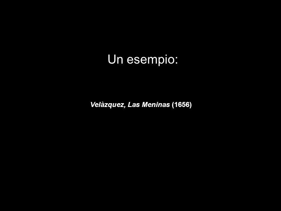 Un esempio: Velàzquez, Las Meninas (1656)