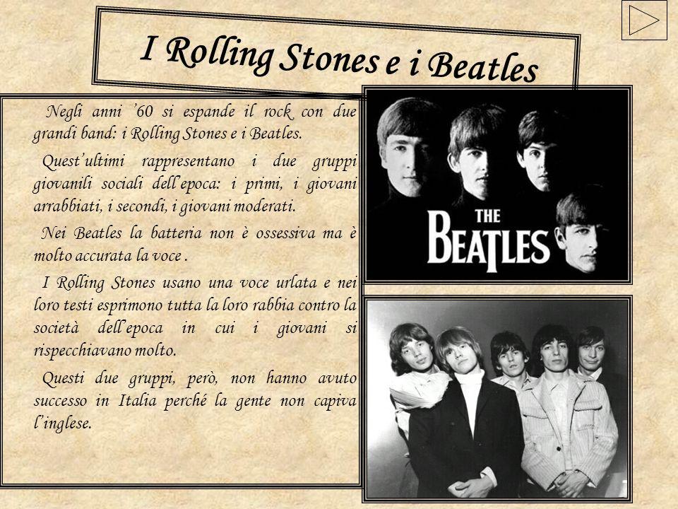 I Rolling Stones e i Beatles