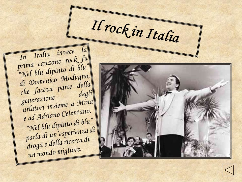 Il rock in Italia