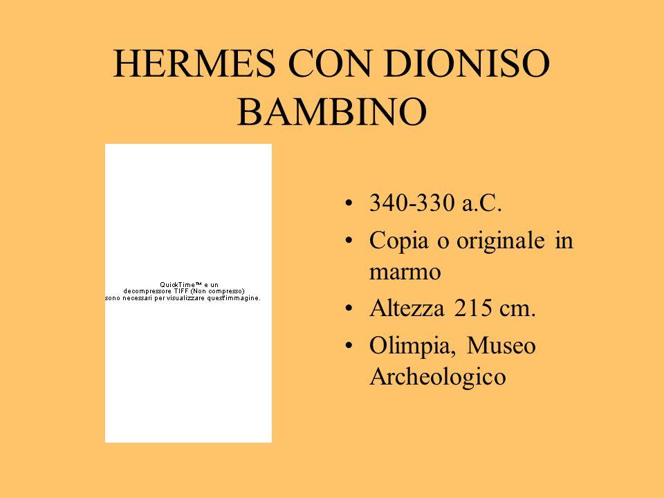 HERMES CON DIONISO BAMBINO
