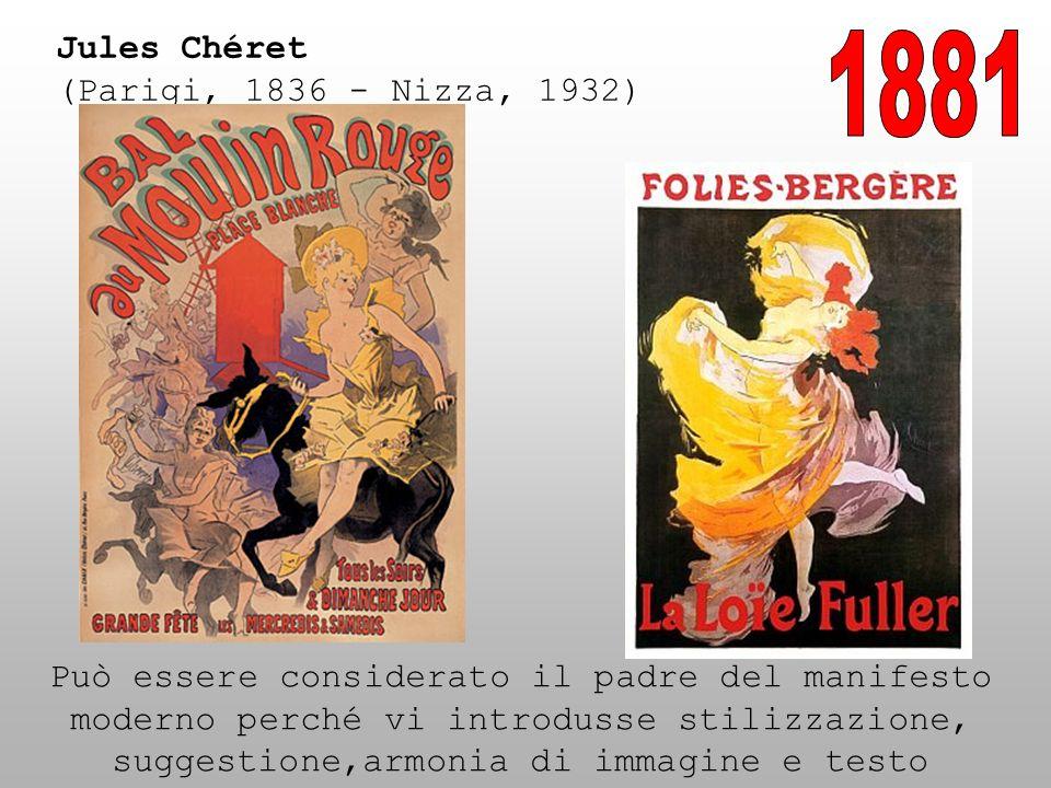 1881 Jules Chéret (Parigi, 1836 - Nizza, 1932)