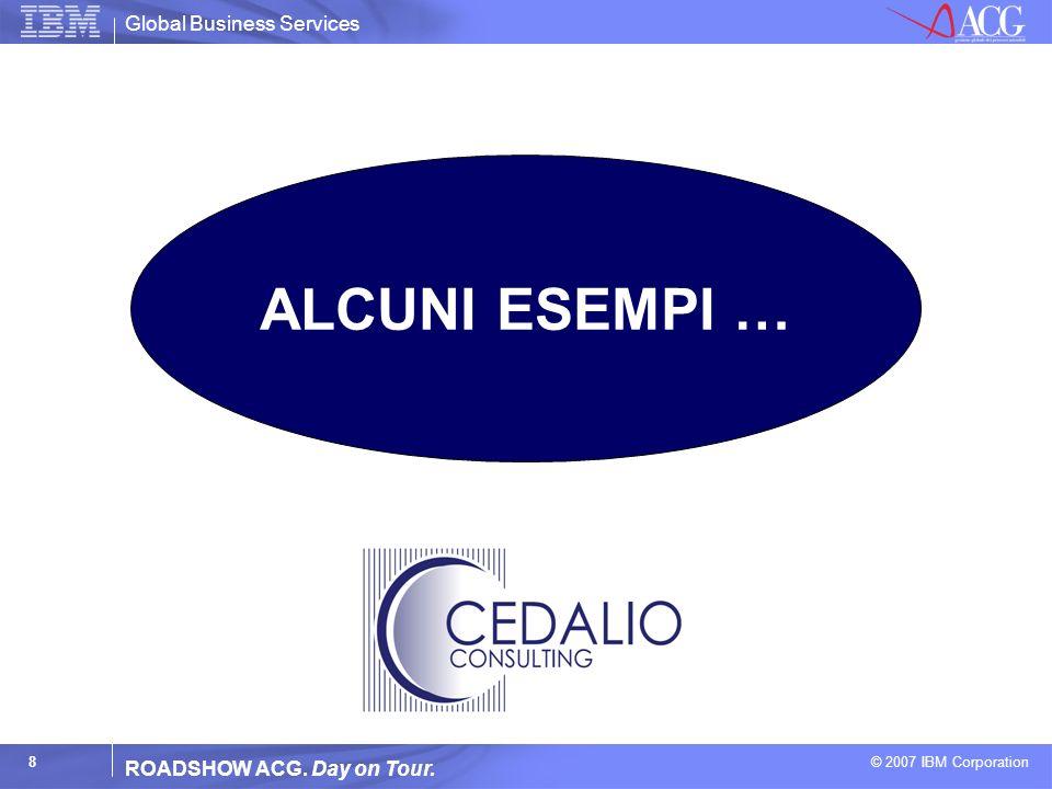 ALCUNI ESEMPI … ROADSHOW ACG. Day on Tour.
