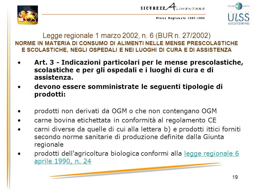 Legge regionale 1 marzo 2002, n. 6 (BUR n