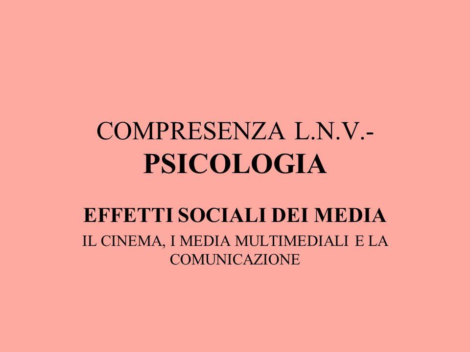 COMPRESENZA L.N.V.- PSICOLOGIA