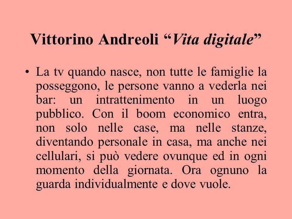 Vittorino Andreoli Vita digitale