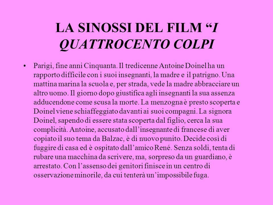 LA SINOSSI DEL FILM I QUATTROCENTO COLPI