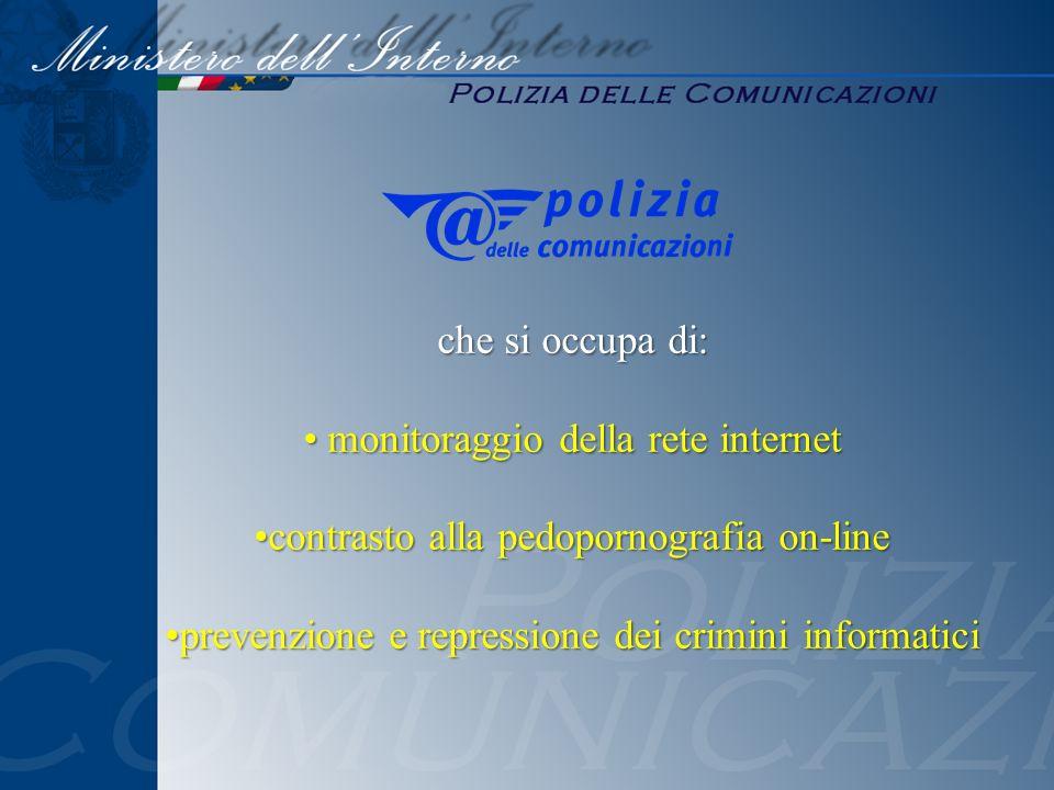 monitoraggio della rete internet