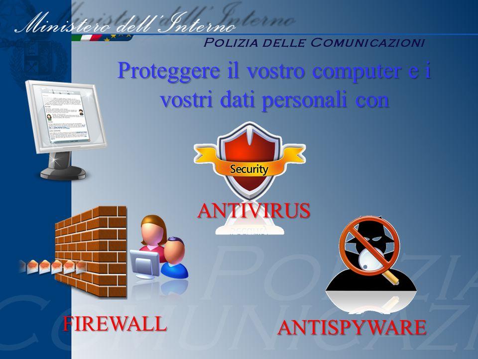 Proteggere il vostro computer e i vostri dati personali con