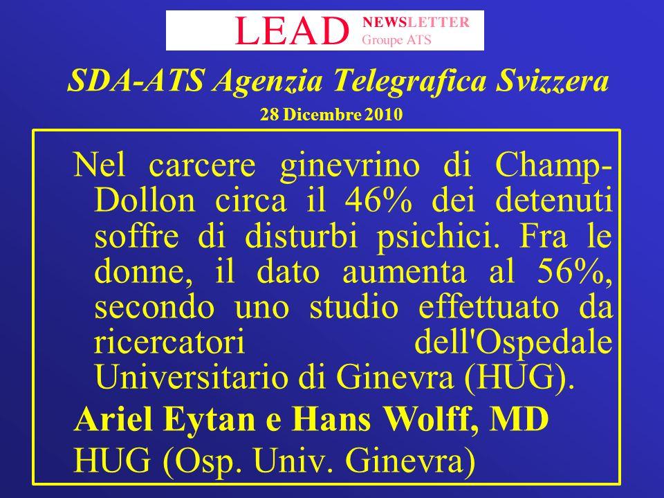SDA-ATS Agenzia Telegrafica Svizzera 28 Dicembre 2010