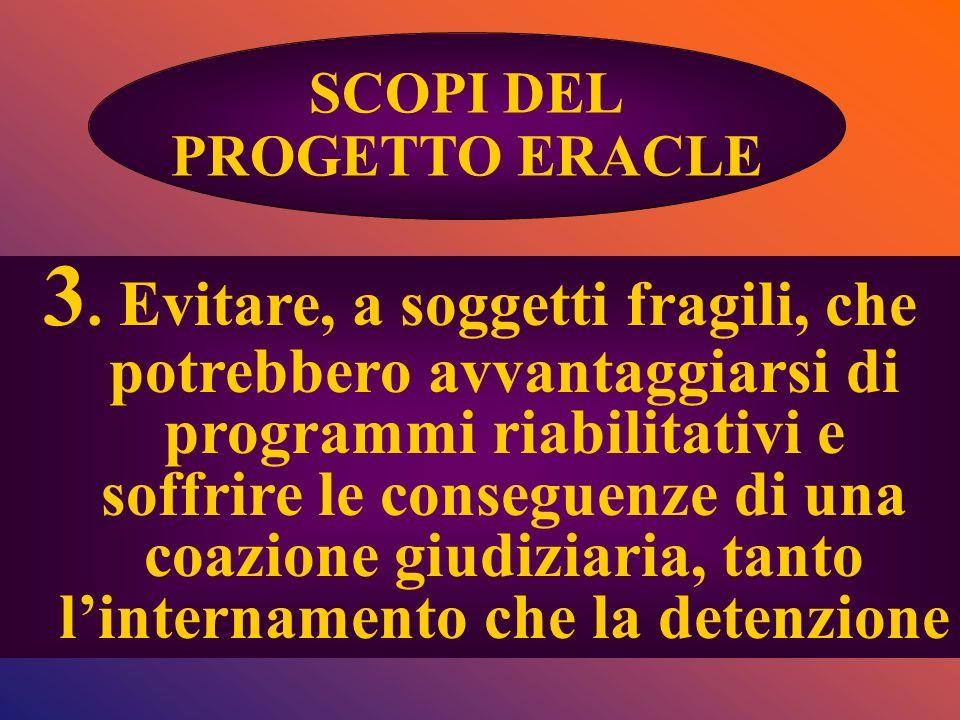 SCOPI DEL PROGETTO ERACLE.