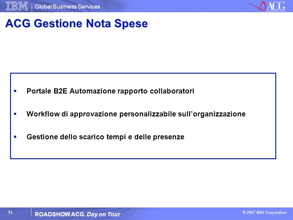 ACG Gestione Nota Spese