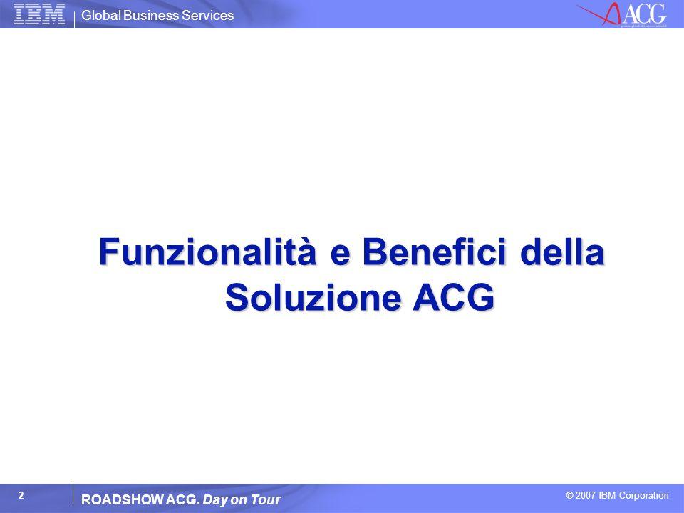 Funzionalità e Benefici della Soluzione ACG
