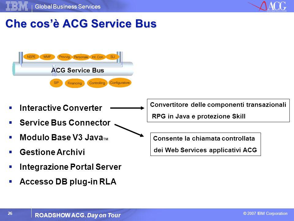 Che cos'è ACG Service Bus