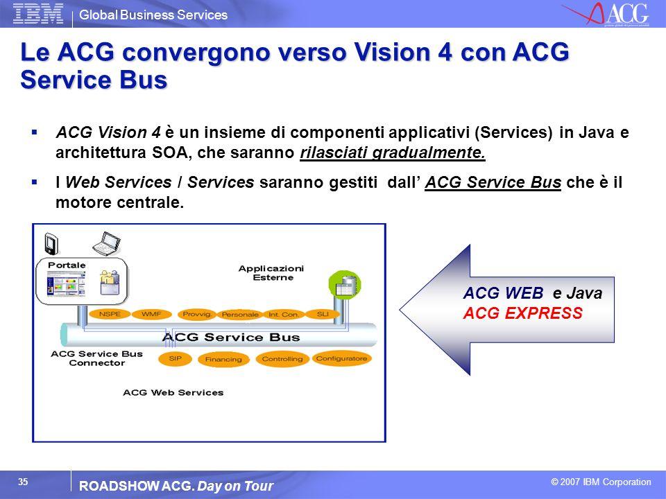 Le ACG convergono verso Vision 4 con ACG Service Bus
