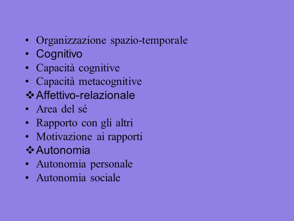 Organizzazione spazio-temporale