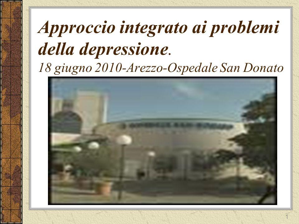 Approccio integrato ai problemi della depressione
