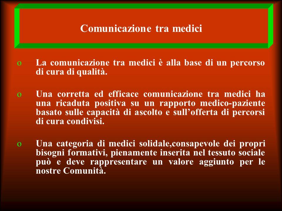 Comunicazione tra medici
