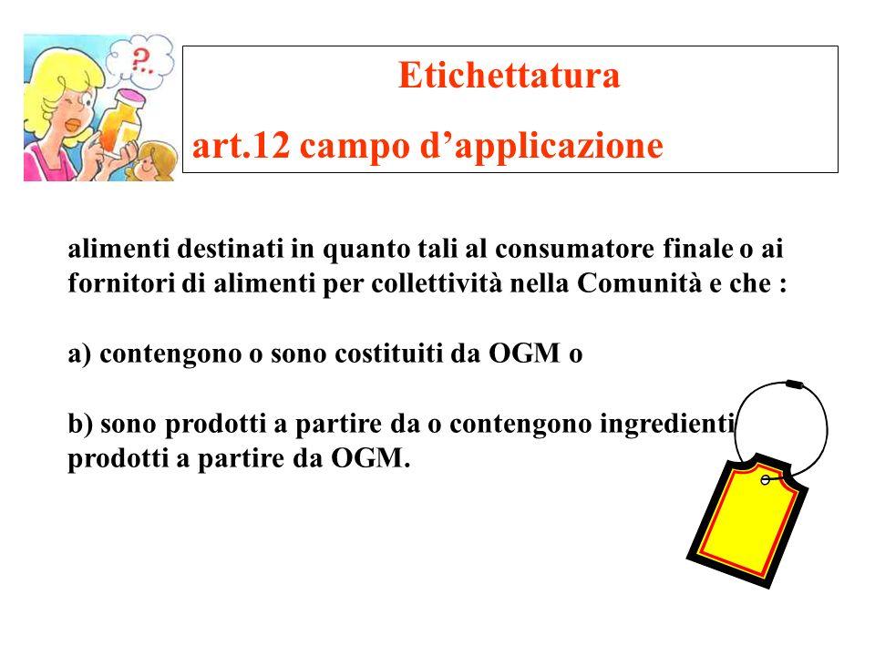 art.12 campo d'applicazione