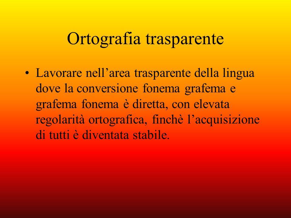 Ortografia trasparente