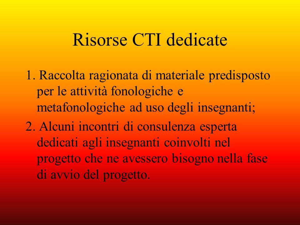 Risorse CTI dedicate