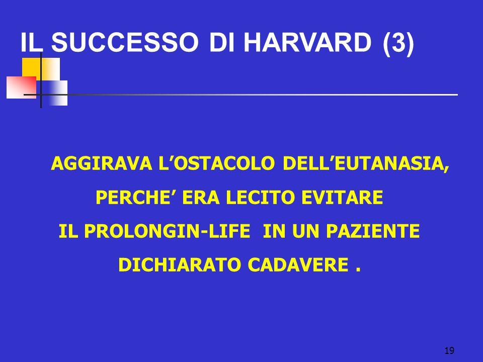 IL SUCCESSO DI HARVARD (3)