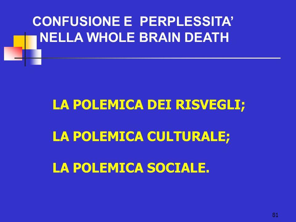 CONFUSIONE E PERPLESSITA'