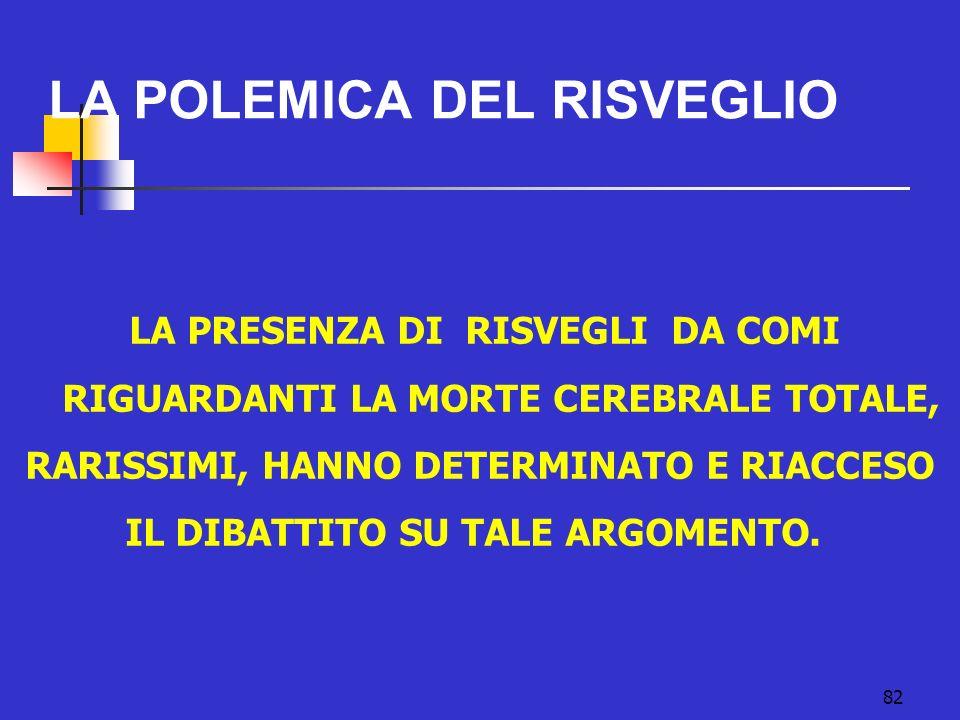 LA POLEMICA DEL RISVEGLIO