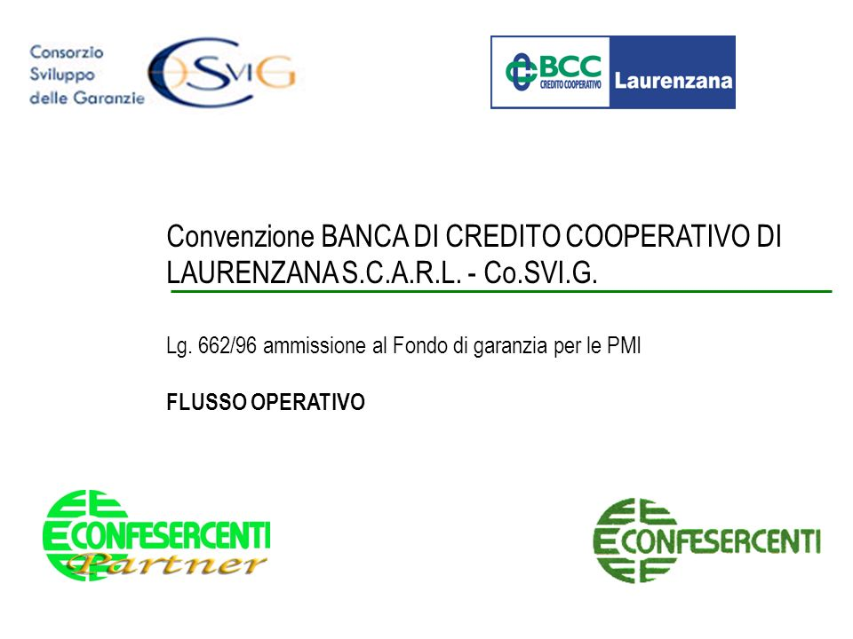 Convenzione BANCA DI CREDITO COOPERATIVO DI LAURENZANA S. C. A. R. L