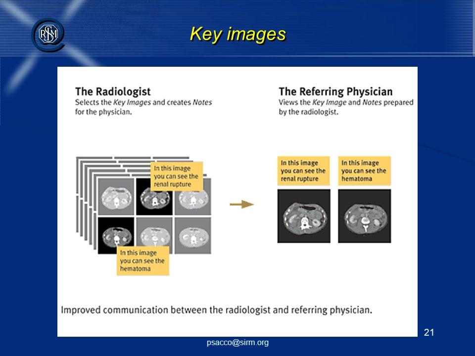 Key images