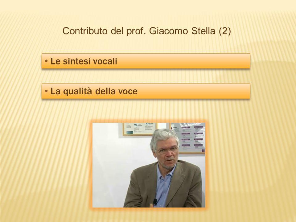 Contributo del prof. Giacomo Stella (2)